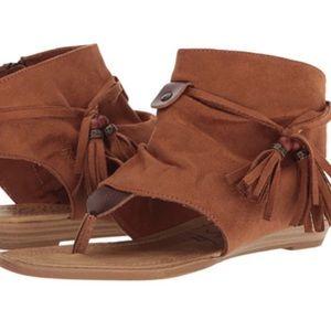 NEW Brown Blowfish Boho Gypsy Sandals Size 7